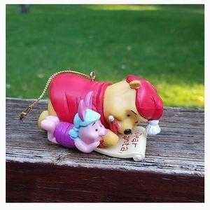 Winnie The Pooh & Piglet Christmas Ornament